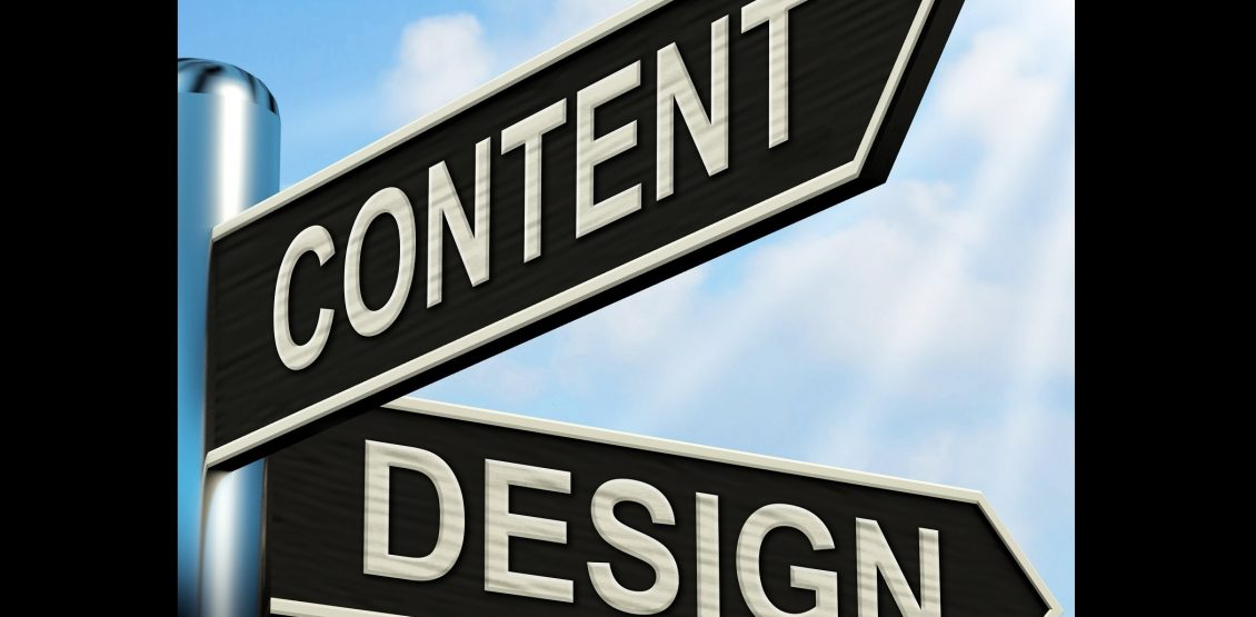CONTENT OR DESIGN? WHAT'S MORE IMPORTANT?